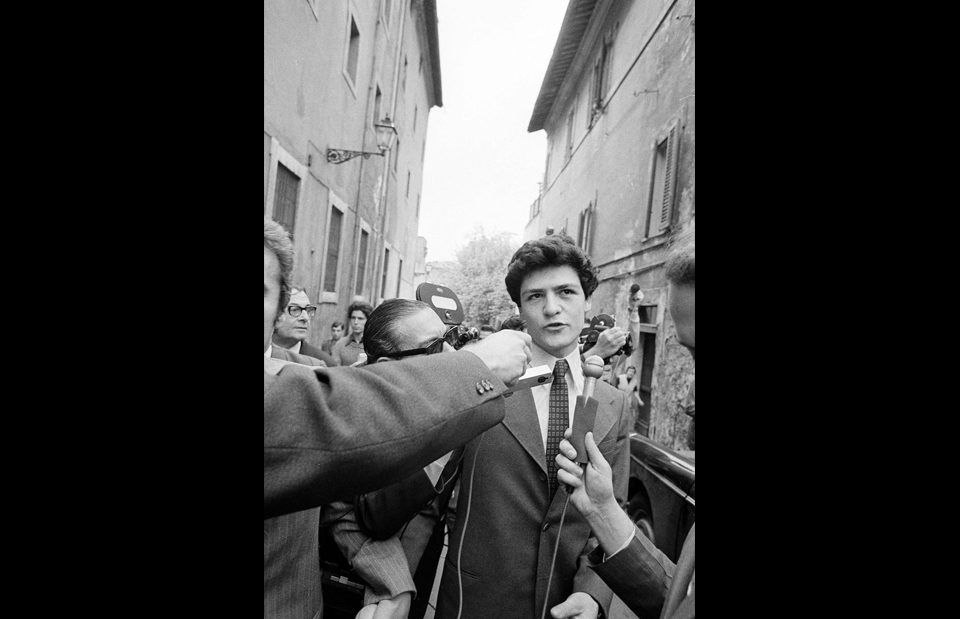 15. Raffaele Minichiello, an Italian-born Marine who hijacked a TWA flight to Rome in 1969. He later signed a contract to star in a spaghetti Western. (AP Photo)