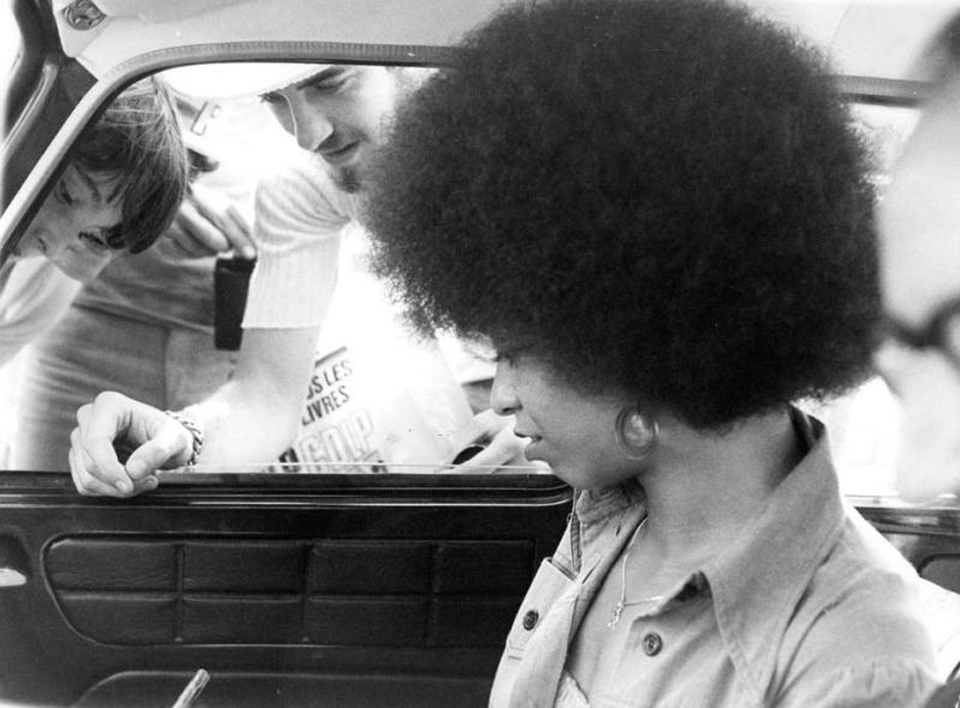 6. Holder plotted the hijacking in part to liberate Angela Davis, a Communist philosophy on trial for murder. He planned to swap the passengers for Davis, then fly her to North Vietnam.