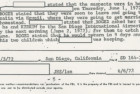 From a June 3, 1972, FBI interview with Roger Holder's parents.