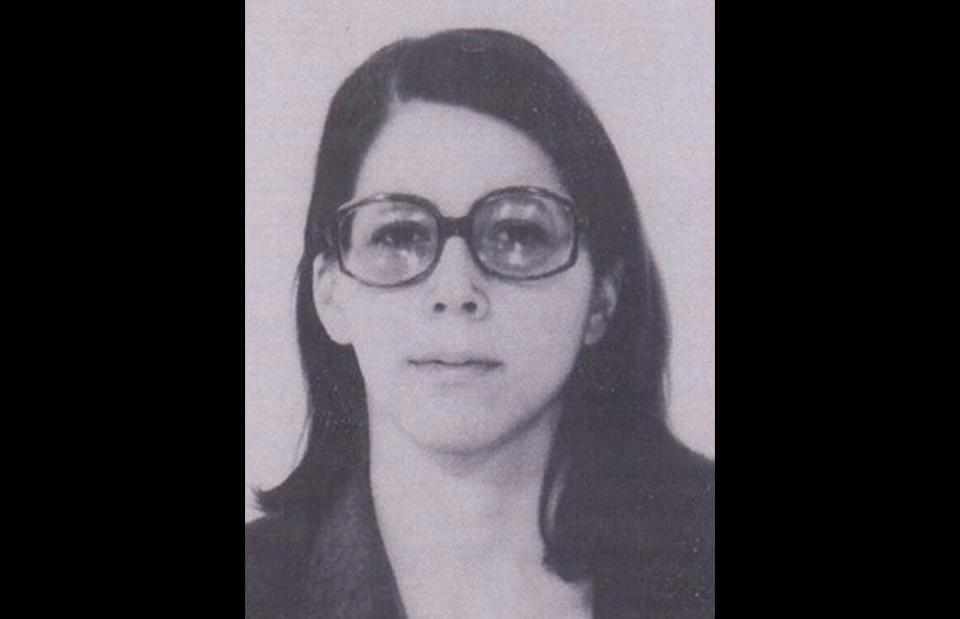 11. Cathy Kerkow in Paris, 1975. (Interpol)